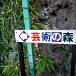新舞子海岸のすぐ近く。高増暁子さんと芸術の森(富津市亀田)