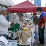 5月4日、KANAYA BASE前で開催された「金谷市場 mercato」でお買い物