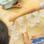 さんかくと水「サンドブラストでガラスに模様を彫ろう」体験レポート